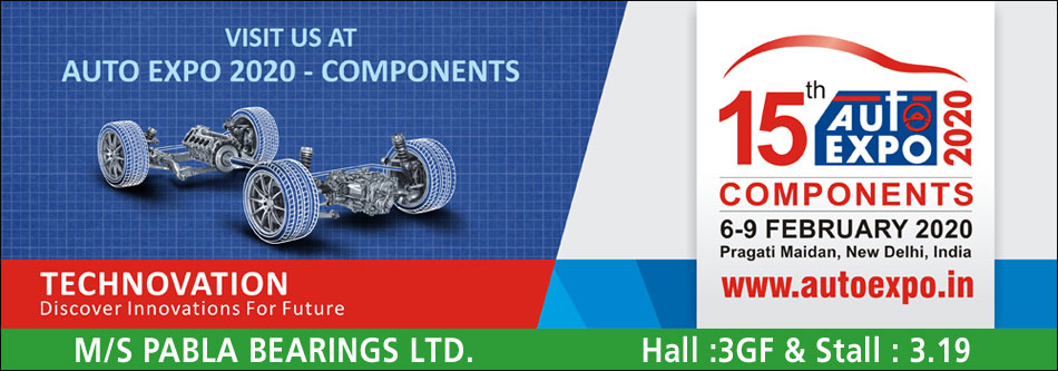 auto expo 2020 new delhi pabla bearings limited